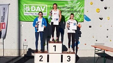 Jugend Süddeutsche Meisterschaft Lead