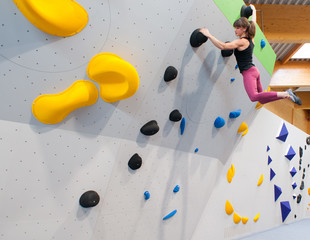 """I believe I can climb"""