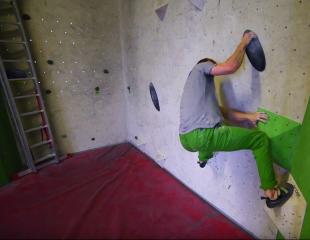 Akrobatisches Bouldern