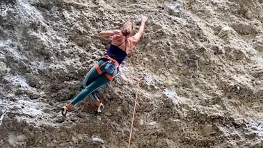Klettererfolg Birte Gutmayer